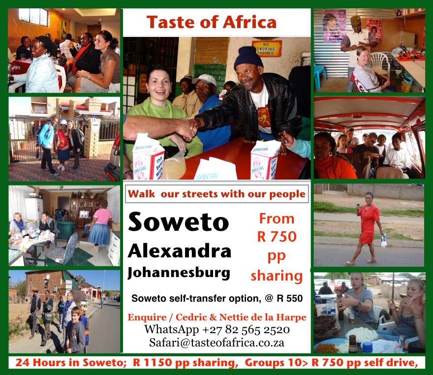 Soweto Alexandra Township Visits